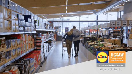 Jigsaw and lidl supermarket