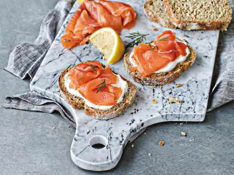 Deluxe Irish Smoked Salmon