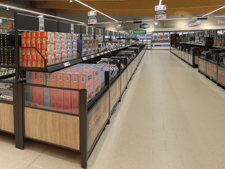 Lidl Middle Aisle