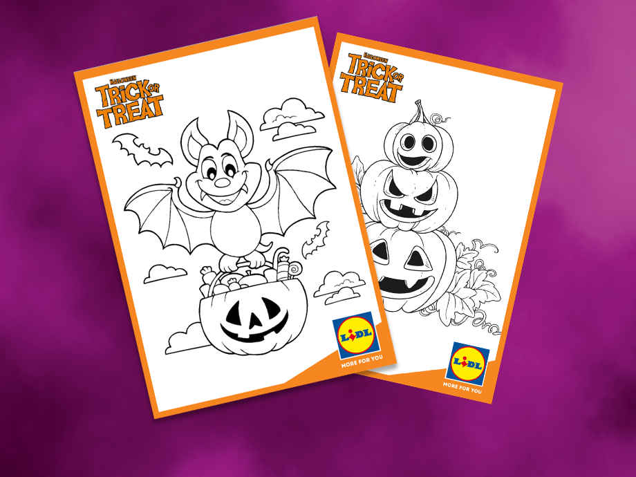 Halloween Colouring Fun